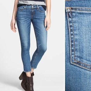 Rag & Bone ankle skinny jeans Doheny 24